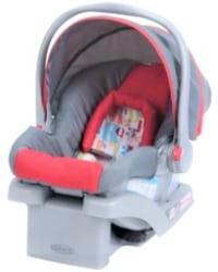 Graco lite rider infant Stroller with car seat and car seat basee