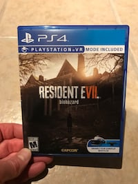 Resident Evil Biohazard PS4 Mint Condition Whitehall, 15236