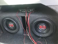 Subwoofers and amp for sale Springfield, 65807