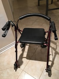 Rollator walker - have 2 to sell in good condition !  $90 each or BO Mississauga, L5V 2B2