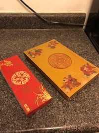 Decorative Asian-inspired design boxes New York, 10803