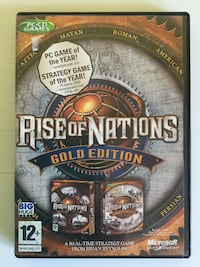 Juego PC Rise of Nations Gold Edition Inglés El Ejido