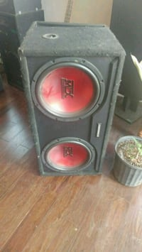 mtx thunder 1500 watt subwoofer New Hamburg, N3A 1L4