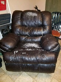 brown leather recliner sofa chair Columbia, 29204