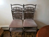 Dining room chairs x 4 Monticello, 12701