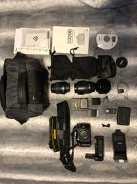 Nikon D3200 plus many extras