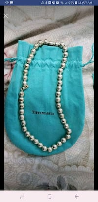 Brand new Tiffany and Co bead necklace Vaughan, L4K 3S7