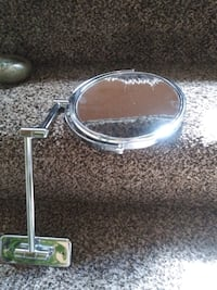 Bathroom  magnifying mirror