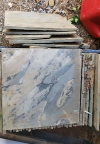 Grey slate Natural stone tile read ad for imfo