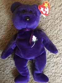 1997 Princess Diana Beanie Bear Roseville