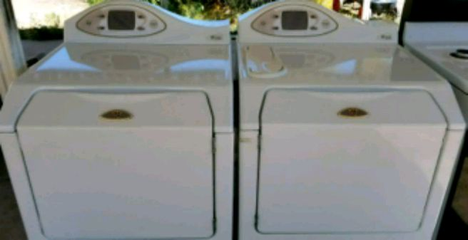 Photo (Gas!) Really Nice! Maytag Neptune Washer and Dryer, Work Perfect!