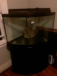 54 gallon aqueon corner fish tank