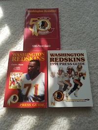[TL_HIDDEN] 1 Washington Redskins Press Guides Rockville