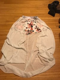 white and pink floral long-sleeved shirt Boynton Beach, 33436
