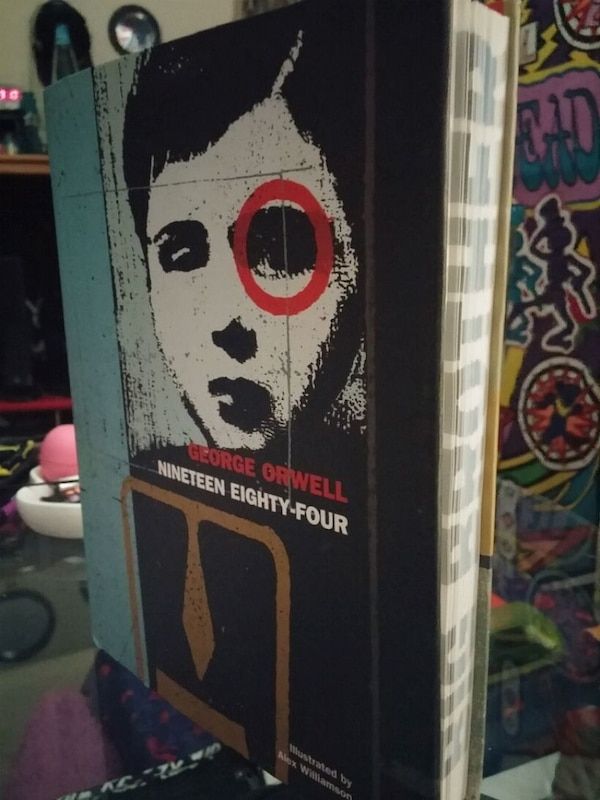 Used Rare 1984 George Orwell Illustrated Imported Book For Sale In