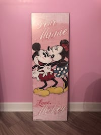 Minnie & Mickey frame