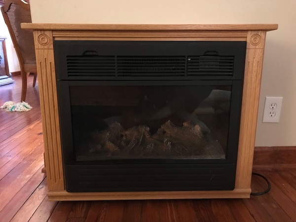 Used Amish Made Electric Fireplace For Sale In Buffalo Letgo