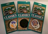 Classic pogs. Never opened. 7 in each pack Brampton, L6T 2M2