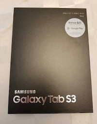 Samsung Tab S3 sealed and unopened Alexandria, 22304