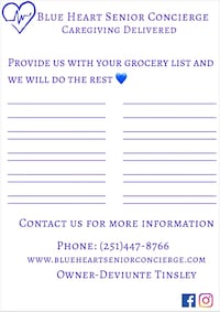 Grocery Delivery For Senior Citizens