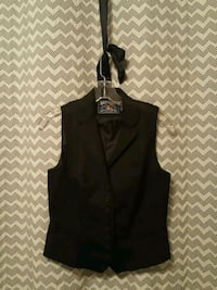 American Living Womens black collar vest size 4 Euless, 76040