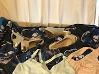 Dresses and clothing size large  and 8.5 shoes Burnaby, V5G 1C2