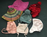 Baby's Assorted Hats/Beannie VANCOUVER