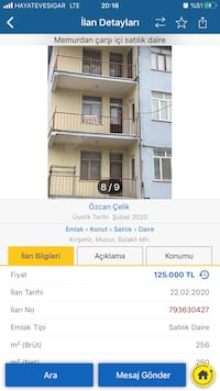 DAİRE 3 + 1 250 ㎡