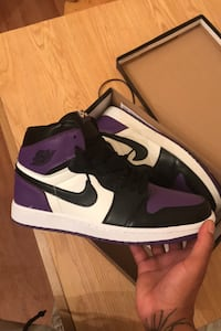 Jordan 1 og retro high court purple