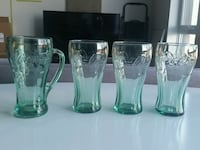4 coca-cola glass Montreal, H2R 0A9