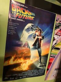 Back to the Future Movie Poster / Wall Art Kendall