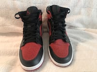 Jordon 1 mid Gym black/red