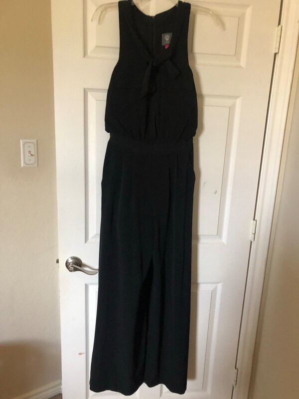 c4d724a3fdf Used Vince camuto black jumpsuit for sale in Mansfield - letgo