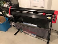 """Vinyl cutter 48"""" by USA cutters Abbotsford, V2S 0A5"""