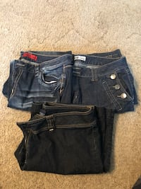 3 Pairs of Jeans Size 18 Womens Hagerstown, 21740