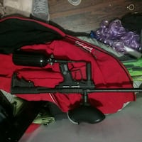 red and black compound bow Brantford, N3T 3K5