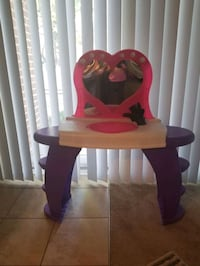 Minnie mouse vanity/seat + Minnie Mouse doll   Forest Heights, 20745