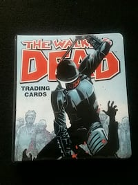 The walking dead trading cards Santa Rosa, 95404