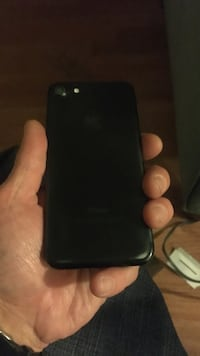 Black iphone 7 with case t-mobile needs new screen and sim tray