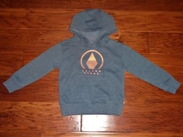 Toddler Boy SIZE 2T Blue VOLCOM STONE Hoodie