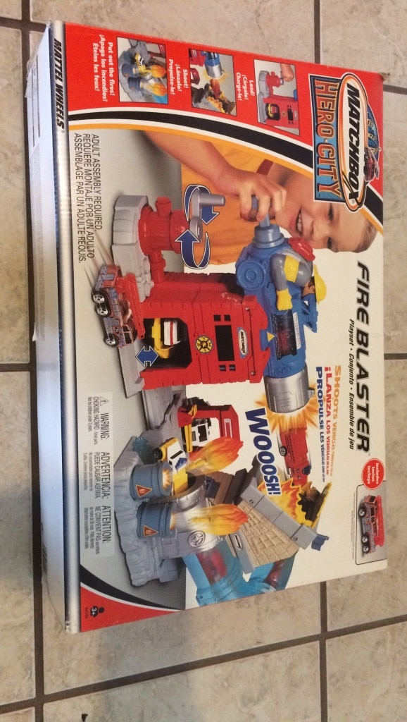 Matchbox hero city fire blaster box for sale  Wall