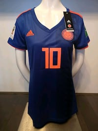 Colombia 2018 World Cup Home and Away Women Jersey Mississauga, L5B 0A1