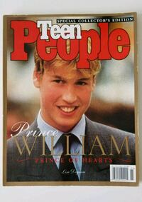 Teen People Magazine - Prince William - Dec 1998 Issue