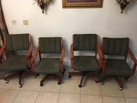 Table with 6 chairs must go now!! Like new Lancaster, 93535