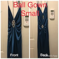 Ball Gown, halter top, size Small Fort Riley, 66442