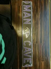Man Cave Sign never opened