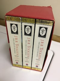 Lord of the Rings - set of 3 books  Burnaby, V5G 1K9