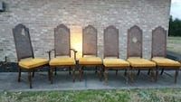 Sevierville pick up 6 dining chairs antique Sevierville
