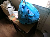 Bag of scrubs sizes ranging from xs-m