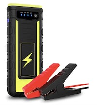 Brand New Seal In Box 18000mAH Car Jump Starter 800A Peak Upgraded Battery Booster Portable Power Bank with Dual USB Ports Built-In Flashlight, for Up to 6.5L Gas & 3.0L Diesel or Pickup Truck Hayward, 94544